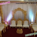 Beautiful Wedding Mandap Chairs Set
