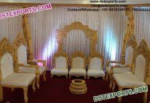 Beautiful Wedding Mandap Chairs Set