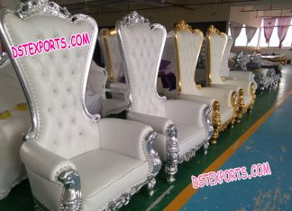 Big Back Bride u0026 Groom Wedding Chair set & Wedding Bride Groom Chairs Archives u2013 Mandap Exporters