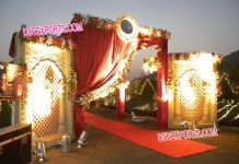 Wedding Welcome Gate Decoration