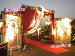Wedding Welcome Gate Decoration