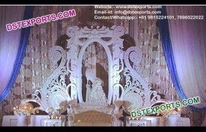 Exclusive Design Wedding Stage Back Frames Walls
