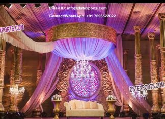 Grand Bollywood Style Indian Wedding Stage