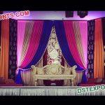 Heavy Beautiful Embrodried Wedding Back Drops