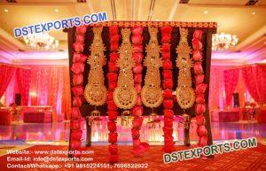 Indian Wedding Heavy Embrodried Jewellery Backdrop