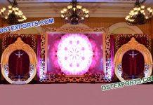 Latest Design Wedding Stage Back Screen Walls