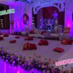 Grand Mehandi & Sangeet Night Decoration