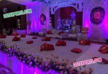 Grand Mehandi & Sangeet Night Decoration
