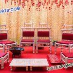 Traditional Gujrati Wedding Mandap Chairs Set
