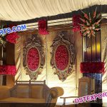Hanging Small Backdrop Oval Panels
