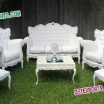 Indian Wedding White Furniture