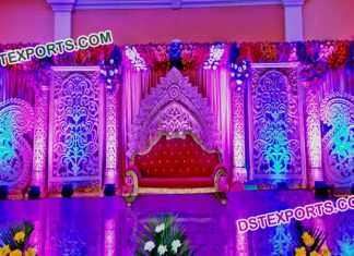 Stage Decoration With Backdrop Panels
