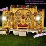 Open Wedding Stage Decoration