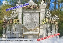 Ancient English Wedding Stage Decor Set