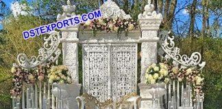 Ancient English Wedding Stage Decor Set