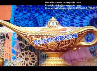 Asian Wedding Decor Alladin Lamps
