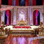 Beautiful Indian Wedding Stage Decoration Frames