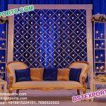 Designer Wedding Stage Back Candle Frames