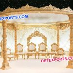 Elegant Wedding Mandap
