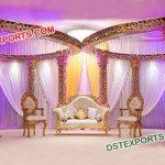 Gold Decoration Mandap
