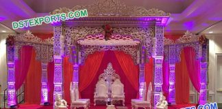 Indian Wedding Bollywood Stylish Mandap
