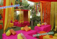 New Style Decoration Stage for Mehandi Night