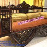Muslim Mehndi Function Carved Sofa Furniture