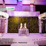 Wedding Stage Metal Candle Walls