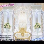 Exclusive Asian Wedding Stage Set