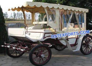 English Royal Family Touring Buggy Carriage