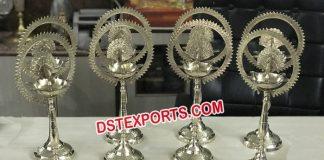 Indian Wedding Decor Jot Diya Stands