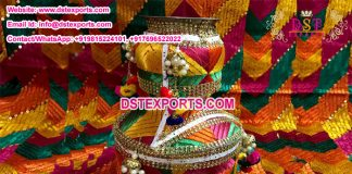 Phulkari Wedding Jaggo in Punjabi Style