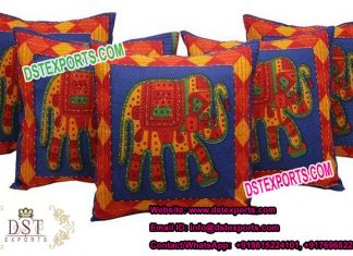 Fancy Cushion Cover for Rajasthani Wedding
