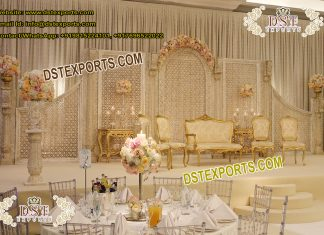 Latest Trending Indian Wedding Stage Decoration