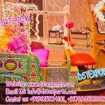 Decorative Open Auto Rickshaw for Bride Groom Entry