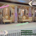 Wedding Stage Backdrop Oval Panels