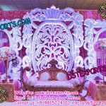 Asian Wedding Stage Backdrop Frames