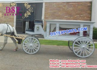 Funeral Horse Drawn Carriage