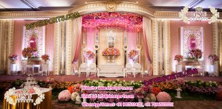 Grand Asian Wedding Stage Decorations