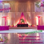 Moroccan Asian Wedding Mehandi Stage