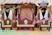 Latest Asian Wedding Stage Decor Set