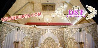 Latest Walima Muslim Wedding Stage Set
