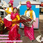 Baisakhi Punjabi Culture Bhangra Statues