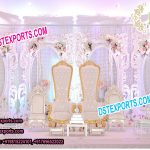 Trending Indian Wedding Stage Decoration