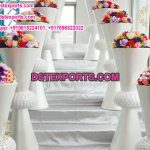 Wedding Decoration White Flower Pots