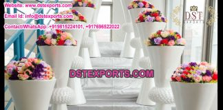 Wedding Decoration White Flower Pots