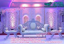 Asian Wedding Jharokha Frame Stage Decoration