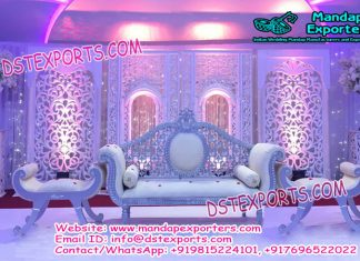 Asian Wedding Jharokha Frame Stage Decoration