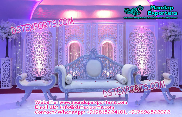 Asian Wedding Jharokha Frame Stage Decoration Mandap Exporters