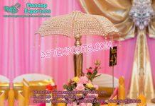 Crystal Table Center piece Umbrella